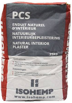 PCS, our natural interior plaster - ISOHEMP