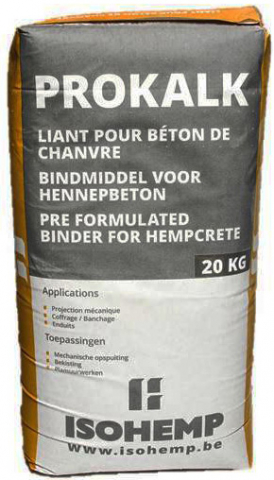 Béton de chanvre - ISOHEMP